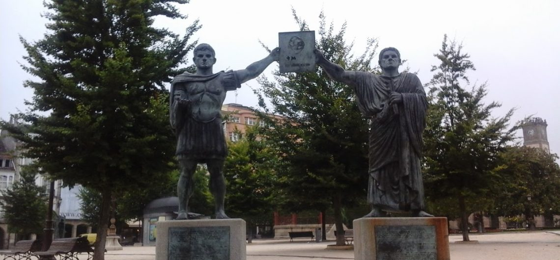 Bronze Statue of Lugo roman founders