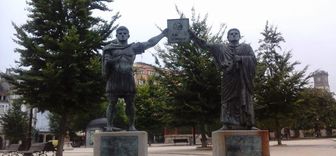 Bronze Statue of Lugo roman founders