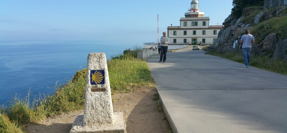 the Finisterre lighthouse